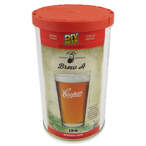 Coopers IPA DIY Beer Kit - 1.7kg - Canadian Homebrewing Supplier - Free Shipping - Canuck Homebrew Supply
