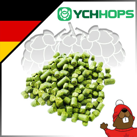 German Hallertau Blanc Hop Pellets - 1 lb - Canadian Homebrewing Supplier - Free Shipping - Canuck Homebrew Supply