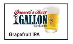 Grapefruit IPA 1 Gallon Beer Kit