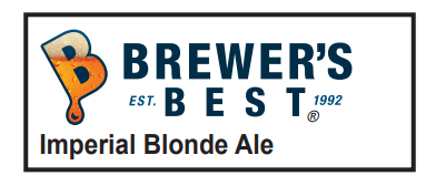 5 Gallon Imperial Blonde Ale Homebrew Kit