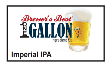 Imperial IPA 1 Gallon Beer Kit