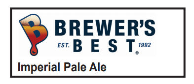 5 Gallon Imperial Pale Ale Homebrew Kit