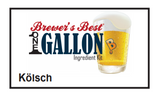 Kölsch 1 Gallon Beer Kit