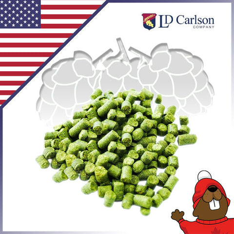 Warrior Hop Pellet - 1 lb - Canadian Homebrewing Supplier - Free Shipping - Canuck Homebrew Supply