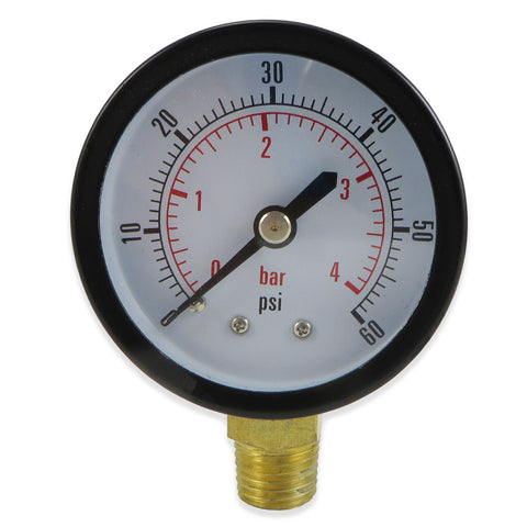 Low Pressure CO2 Regulator Gauge - Canadian Homebrewing Supplier - Free Shipping - Canuck Homebrew Supply