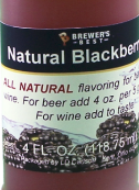 All Natural Blackberry Flavouring - 4 fl oz (118 ml)