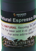 All Natural Espresso Bean Flavouring - 4 fl oz (118 ml)