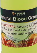 All Natural Blood Orange Flavouring - 4 fl oz (118 ml)