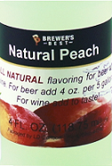 All Natural Peach Flavouring - 4 fl oz (118 ml)