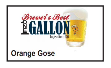 Orange Gose 1 Gallon Beer Kit