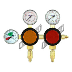 Taprite Double Primary High Pressure CO2 Regulator (100, 160, & 2000 PSI)