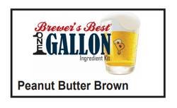 Peanut Butter Brown Ale 1 Gallon Beer Kit