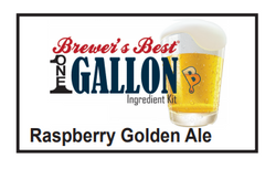 Raspberry Golden Ale 1 Gallon Beer Kit