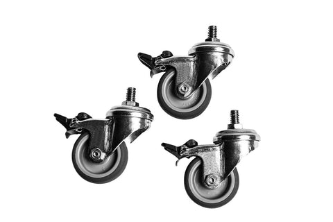 Caster Wheels for Spike Conical Fermenters | CF-CAST-3 | Spike Brewing - Canadian Homebrewing Supplier - Free Shipping - Canuck Homebrew Supply
