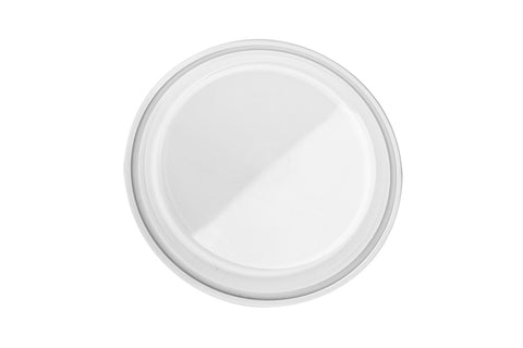 "4"" Tri-Clover Clear Polycarbonate Cap 