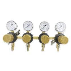 Quad Secondary CO2 Regulator (60PSI) #T1694ST - Canadian Homebrewing Supplier - Free Shipping - Canuck Homebrew Supply