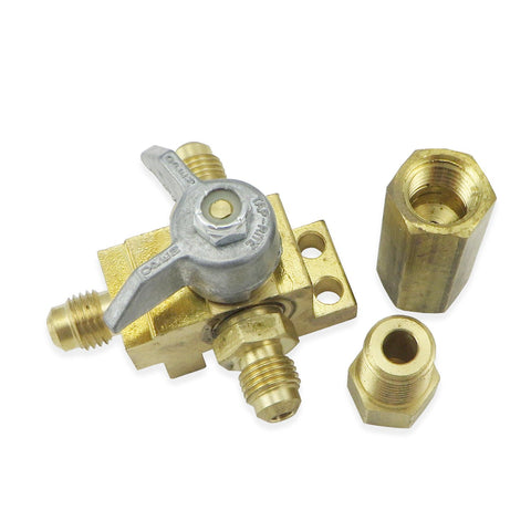 Taprite CO2 Change Over Valve with Fittings (#7431) - Canadian Homebrewing Supplier - Free Shipping - Canuck Homebrew Supply