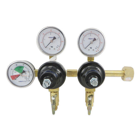 Dual Product Regulator (60 & 2000PSI) #752HP-02 - Canadian Homebrewing Supplier - Free Shipping - Canuck Homebrew Supply