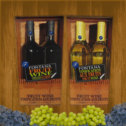 Fontana Wine Kit – Fruit – Peach Chardonnay - Canadian Homebrewing Supplier - Free Shipping - Canuck Homebrew Supply
