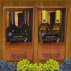 Fontana Wine Kit – Premium - Riesling - Canadian Homebrewing Supplier - Free Shipping - Canuck Homebrew Supply
