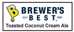 5 Gallon Toasted Coconut Cream Ale Homebrew Kit