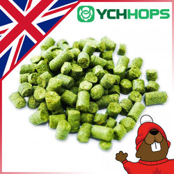 UK Target Hop Pellets - 1oz - Canadian Homebrewing Supplier - Free Shipping - Canuck Homebrew Supply