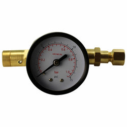Adjustable Spundling Valve w/ Pressure Relief and Gauge