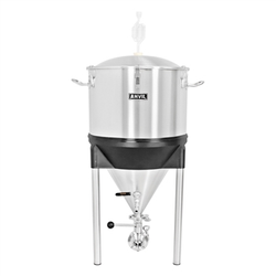 Anvil Brewing Equipment Stainless Steel Crucible Conical Fermentor - 14 Gallon
