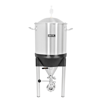 Anvil Brewing Equipment Stainless Steel Crucible Conical Fermentor - 7 Gallon