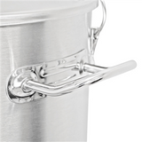 Anvil Brewing Equipment Stainless Steel Crucible Conical Fermentor - 7 Gallon - Handle