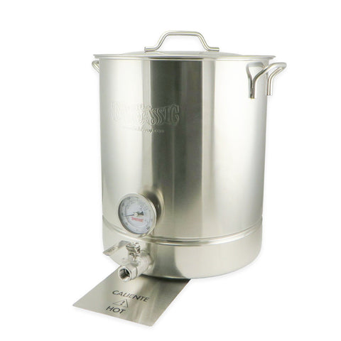 10 Gallon 4 Piece Stainless Steel Brew Kettle Set