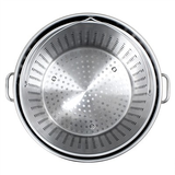 142 Quart Stainless Steel Stock Pot - Interior View