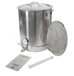 SS 16 Gallon, 6 Piece Brew Kettle Set
