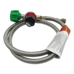 Bayou Classic 30psi Regulator with Braided Hose - 48""