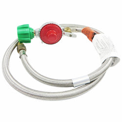 Bayou Classic 10psi Braided Regulator Hose - 48""