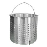 122 Quart Stainless Steel Stock Pot Basket