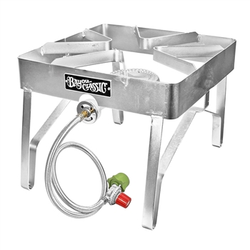 Bayou Classic Stainless Steel Patio Stove Square Burner