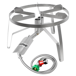 Bayou Classic Stainless Steel Double Jet Burner