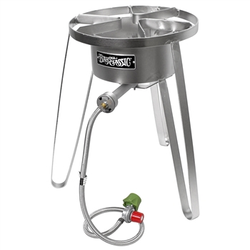 Bayou Classic Stainless Steel High Pressure Tall Burner