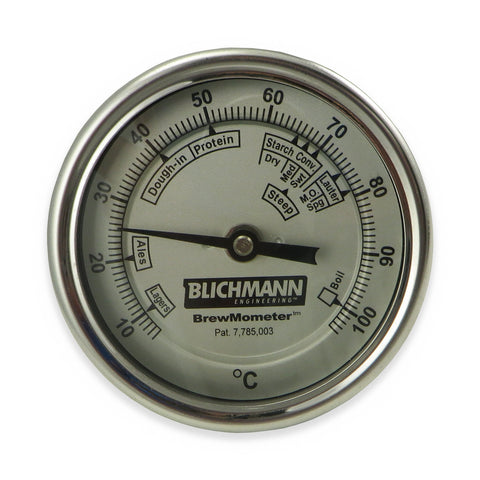 Blichmann BrewMometer Bi-metal Weldless C Scale Thermometer - Canadian Homebrewing Supplier - Free Shipping - Canuck Homebrew Supply