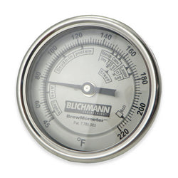 "Blichmann BrewMometer Bi-Metal Thermometer - 1/2"" NPT - Canadian Homebrewing Supplier - Free Shipping - Canuck Homebrew Supply"