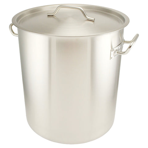 10 Gallon Brew Pot Tri Clad Induction Ready Stainless Steel Canuck Homebrew Supply