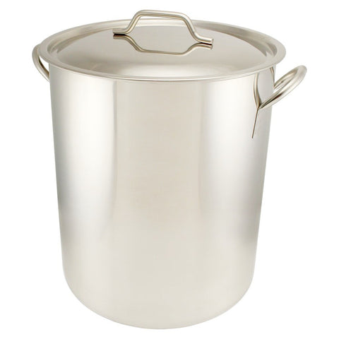 Stainless Steel Brew Pot - 15 Gallon