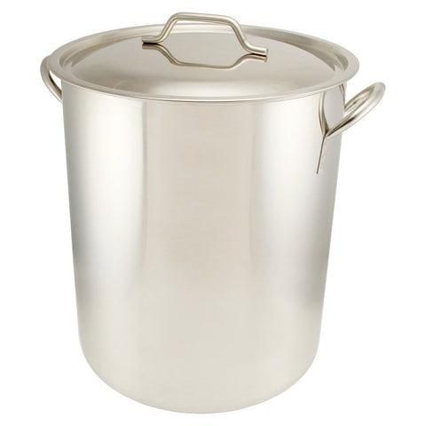 Stainless Steel Graduated Brew Pot - 16 Gallon