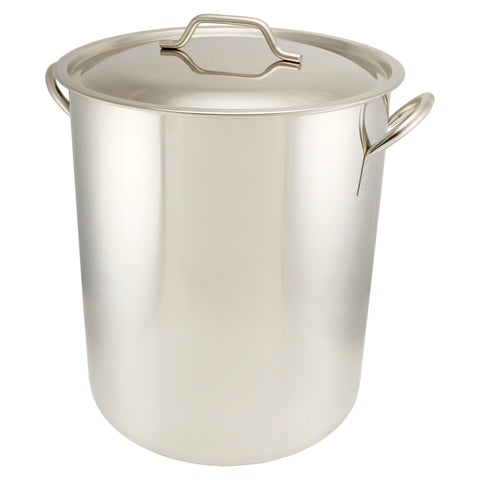 10 Gallon Stainless Steel Graduated Brew Pot - Canadian Homebrewing Supplier - Free Shipping - Canuck Homebrew Supply