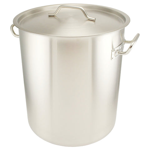 10 Gallon Stainless Steel Graduated Brew Pot - Tri-Clad Induction Ready - Canadian Homebrewing Supplier - Free Shipping - Canuck Homebrew Supply