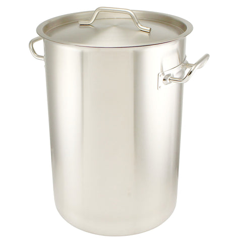 7.5 Gallon Stainless Steel Graduated Brew Pot - Tri-Clad Induction Ready - Canadian Homebrewing Supplier - Free Shipping - Canuck Homebrew Supply