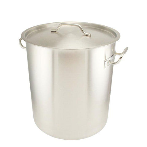 6.5 Gallon Stainless Steel Brew Pot - Tri-Clad Induction Ready