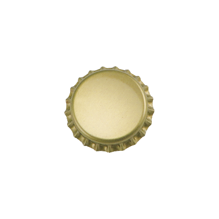 Pry-off Bottlecaps - Gold - Canadian Homebrewing Supplier - Free Shipping - Canuck Homebrew Supply