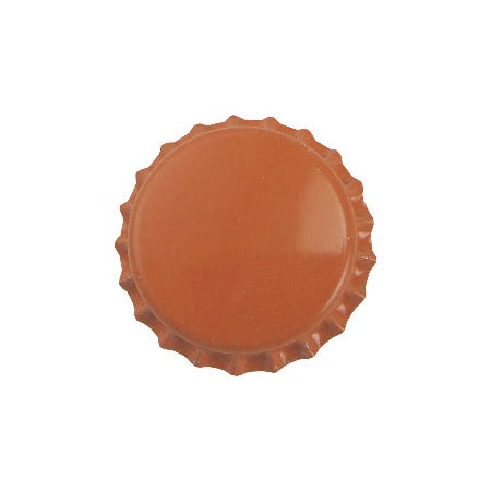 Pry-off Bottlecaps - Orange - Canadian Homebrewing Supplier - Free Shipping - Canuck Homebrew Supply